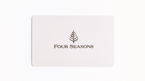 Four Seasons Hotels and Resorts Gift Card
